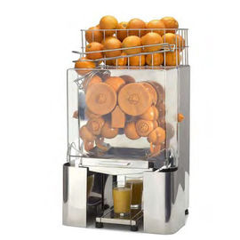 China Commercial Automatic Orange Juicer Machine With Stainless Steel Shell distributor