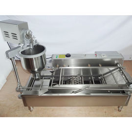 China Professional Donut Maker Machine With 3 Sizes Mold And Temperature Controller distributor