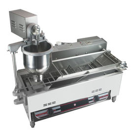 China Stainless Steel Automatic Donut Making Machine 40w 300-1200 Kg/h Capacity distributor