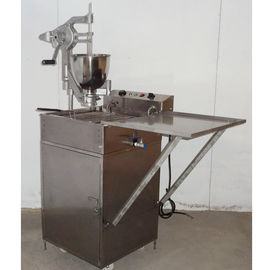 China Electric Commercial Donut Hole Maker Machine With Donut Fryer 3KW distributor