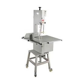 China Kitchen Electric Butcher Bone Saw / Stainless Steel Bandsaw For Meat Cutting distributor