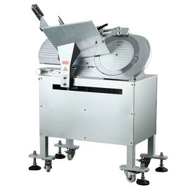 China 14 Inch Automatic Frozen Meat Slicer , Restaurant Meat Slicing Equipment distributor