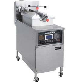 China LPG / Natural Gas Chicken Pressure Fryer With Filtration System 25L Volume distributor